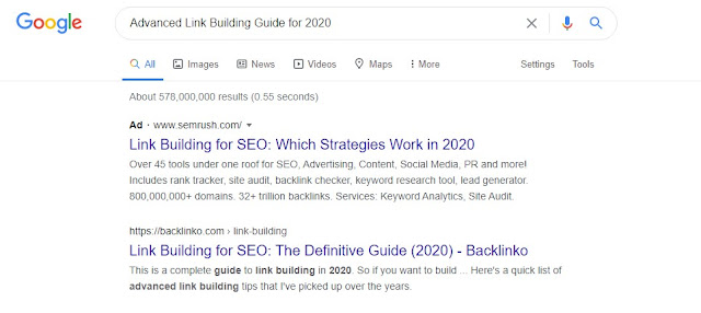 Advanced Link Building Guide for 2020