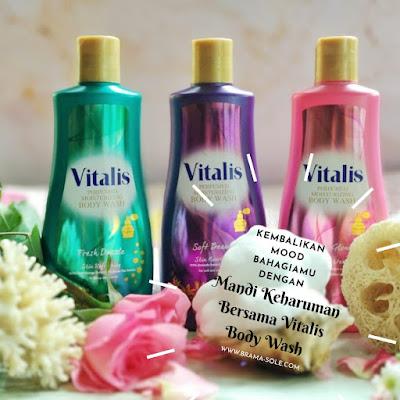 Kembalikan Mood Bahagiamu Dengan Mandi Keharuman Bersama Vitalis Body Wash