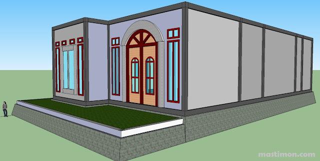 Cara membuat desain Rumah dengan mudah menggunakan SketchUp 8