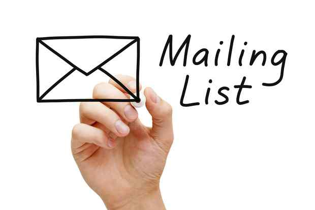 how to build email list for free