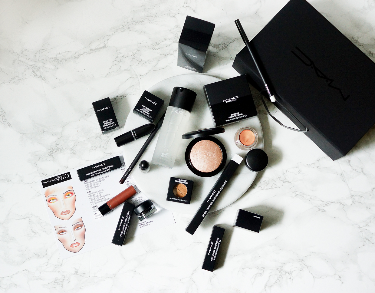 barely-there-beauty-blog-MAC-makeup-flatlay-photography