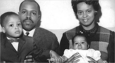 Michelle Obama's father, mother and brother