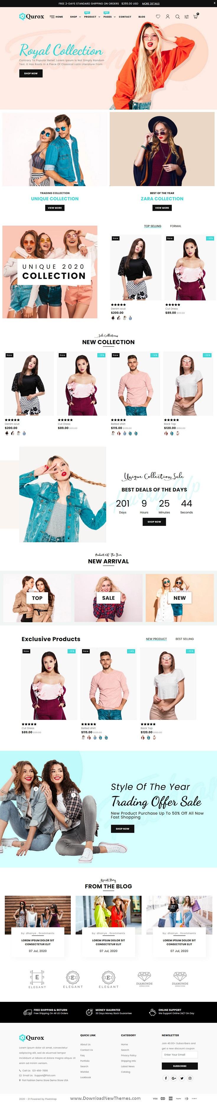 Responsive Shopify Fashion Theme