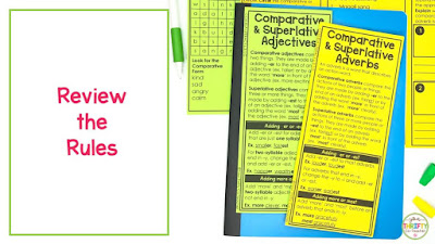 Comparative Adjectives and Superlative Adjective Rules