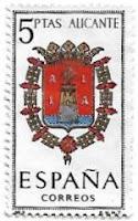 Selo Brasão de Alicante
