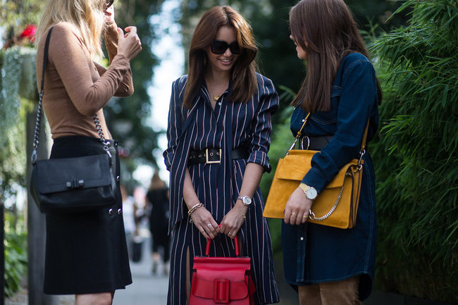 Funda Christophersen -  Stockholm Fashion Week Street Style