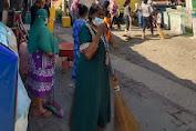 P3KS Bersama Warga Bersihkan Kampung Sejahtera di Medan