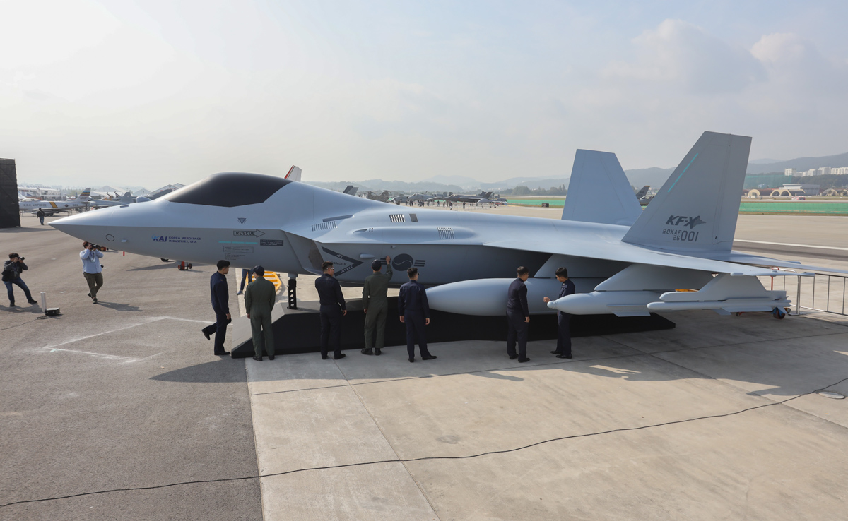 Military and Commercial Technology: ADEX 2019: KAI Unveils KF-X ...