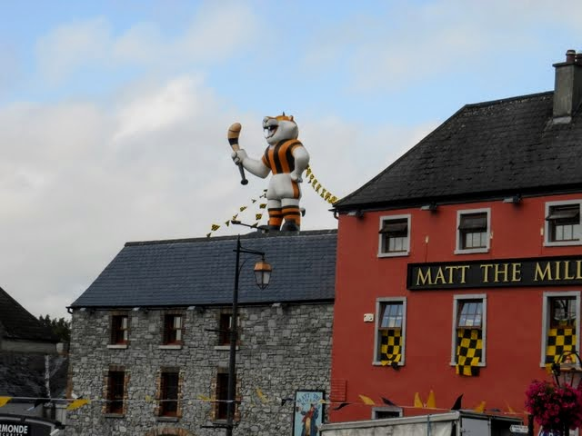 Things to see in Kilkenny: Kilkenny Cats mascot