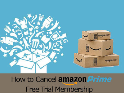 how do i cancel amazon prime trial
