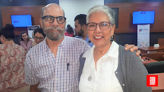 Guillermo Gutierrez y Paty López Mancera.
