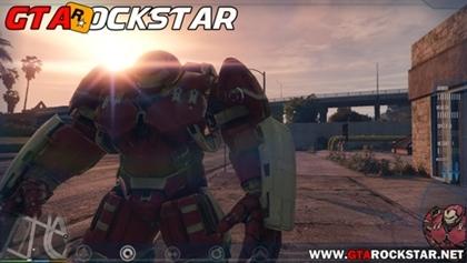 GTA V - Mod Homem de Ferro for GTA V PC