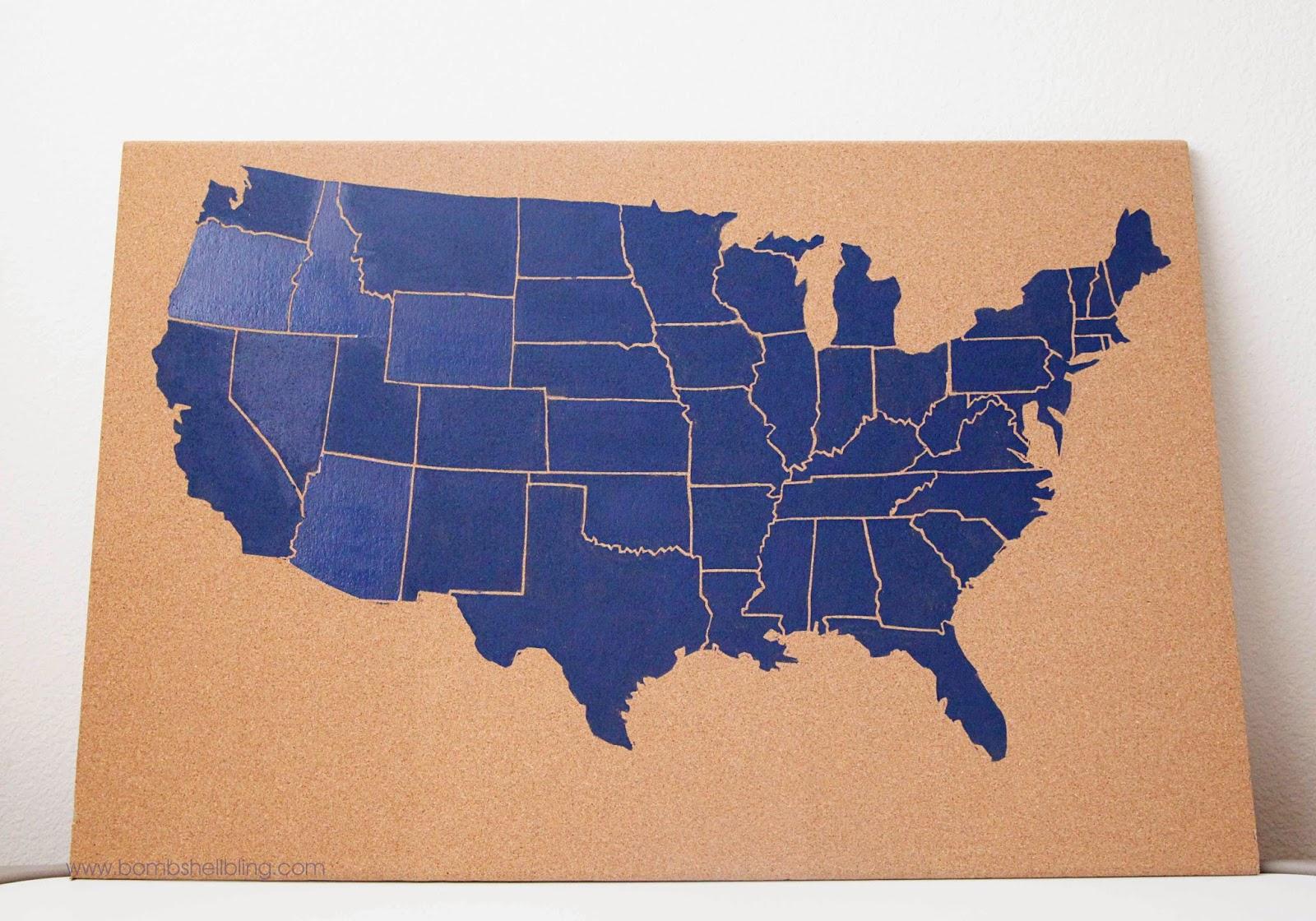 Bootleggers Map Of The United States Edward McCandlish The Rail