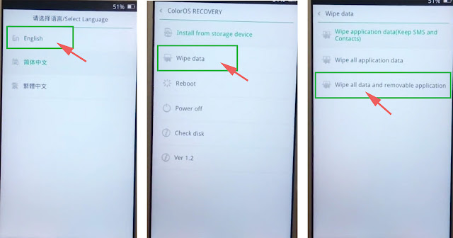 2 Cara Mereset Oppo a37 (Lengkap dengan Gambar)