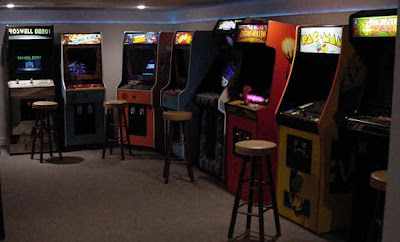 Old Fashioned Video Arcade