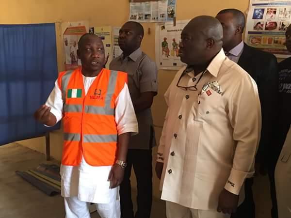 Ikpeazu in Adamawa, visits Malkohi IDP camp