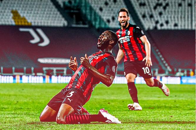 Serie A, Milan da Champions: battuta la Juve 3-0