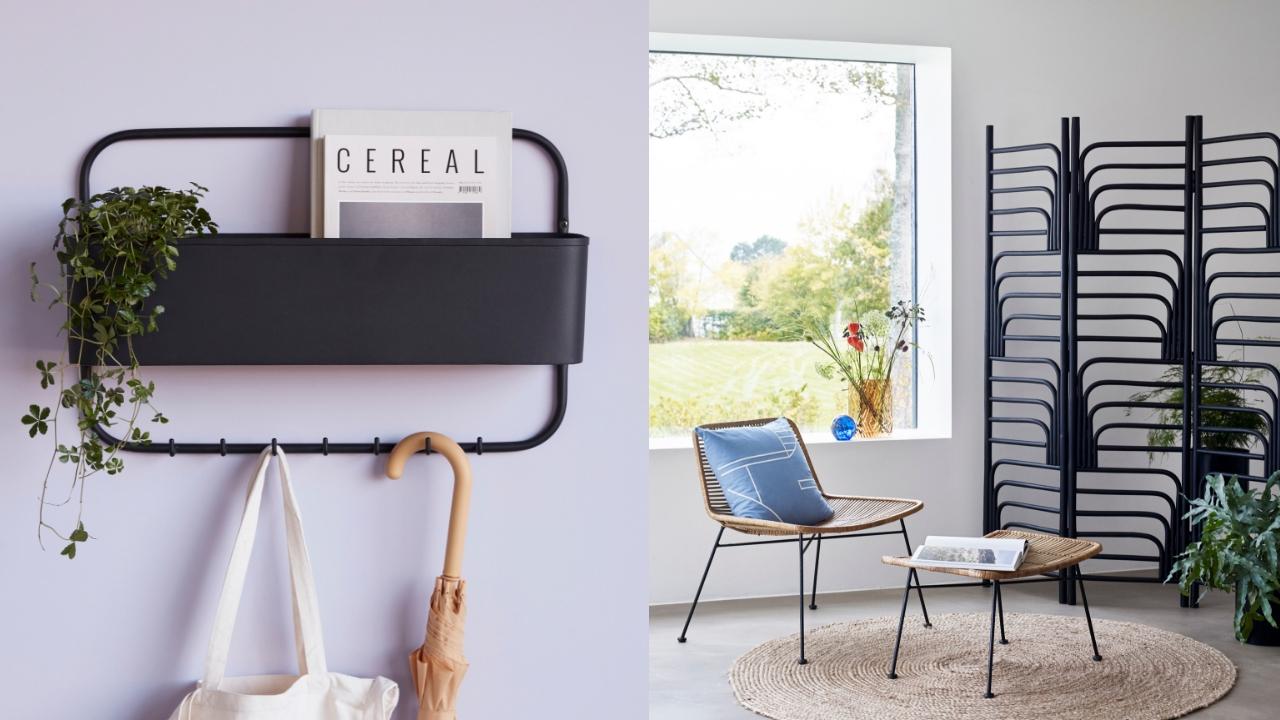 Czarne dodatki i meble do mieszkania