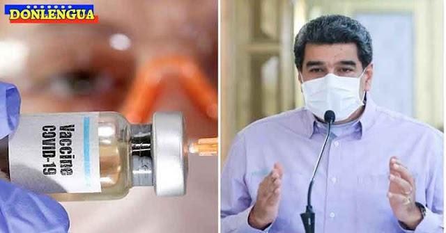 NADA DE GOTITAS | Maduro se pondrá la vacuna contra el V.CH. la próxima semana