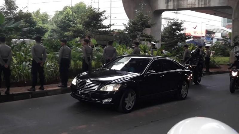 Mobil kepresidenan Jokowi