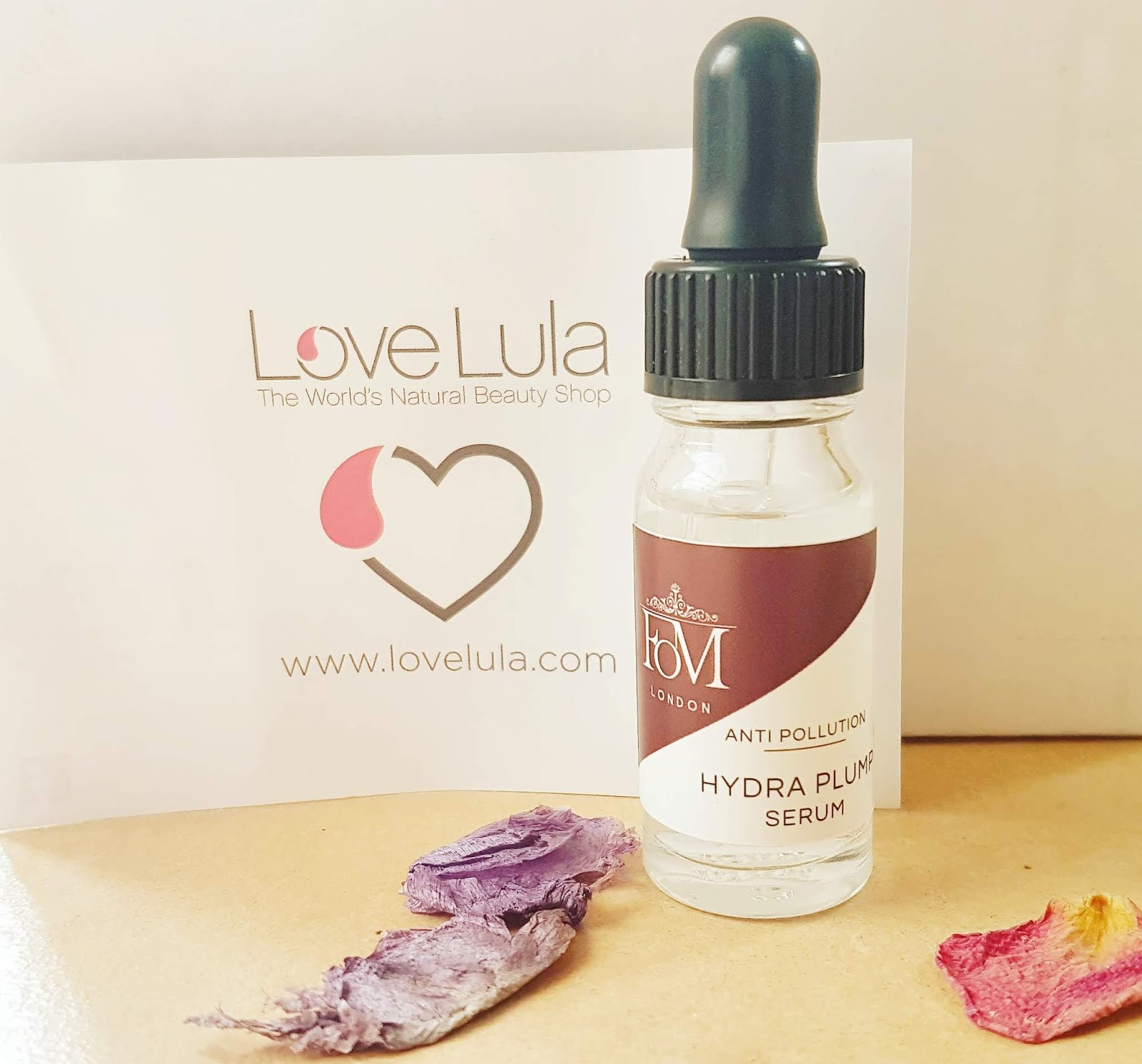 Love Lula Beauty Box - FOM Hydra Plump Serum Review
