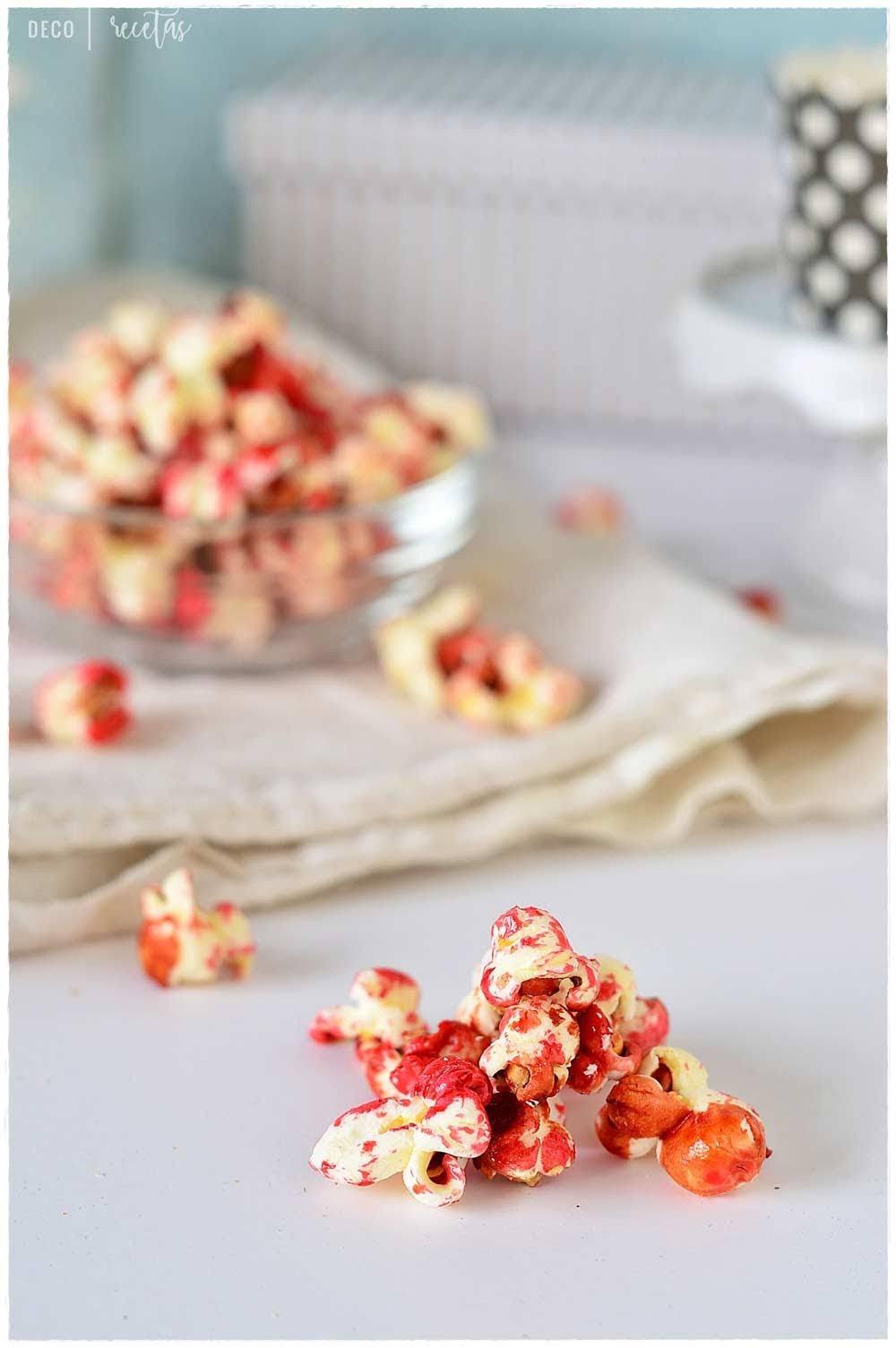 palomitas dulces como hacer palomitas dulces