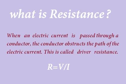 resistance kise kahte hai;pratirodh kya hai;resistor