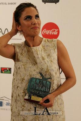 PREMIO MiM a MEJOR ACTRIZ COMEDIA a Toni Acosta por 'SEÑORAS DEL (H)AMPA'