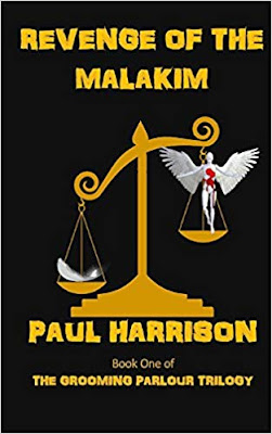 Revenge of the Malakim by Paul Harrison book cover