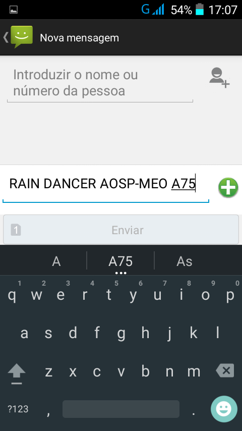 SMOKERMAN BLOG: Rain Dancer KITKAT MEO A75