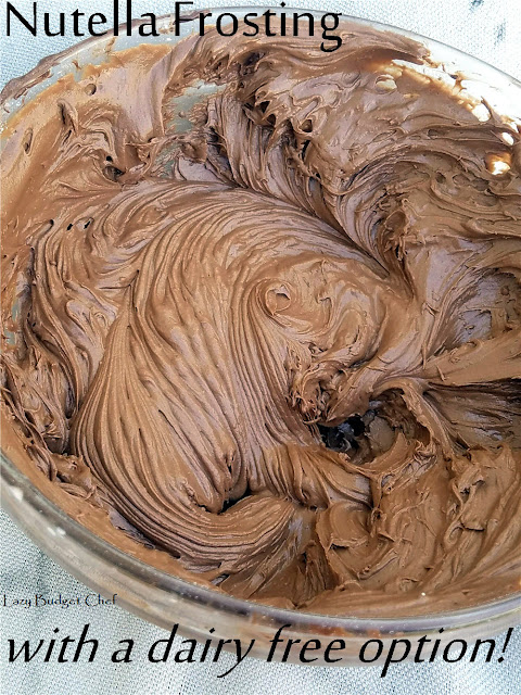how to make nutella frosting icing recipe
