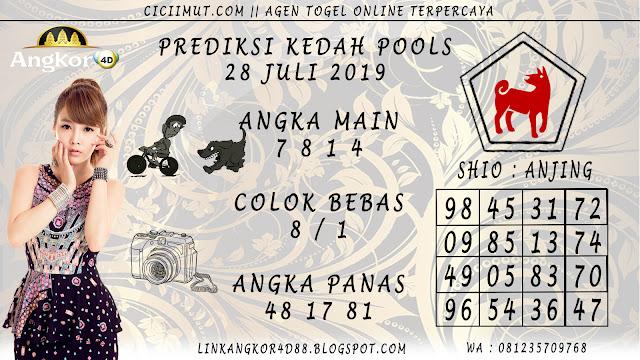 PREDIKSI KEDAH POOLS 28 JULI 2019