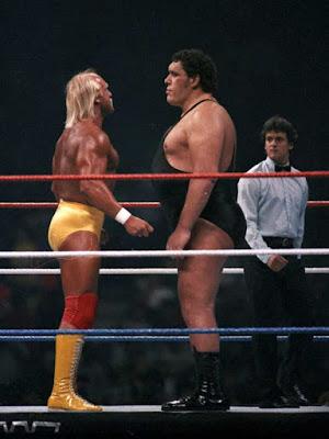 André el Gigante vs Hulk Hogan en Wrestlemania 3