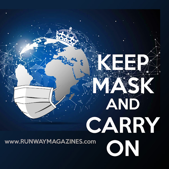 Keep Mask and Carry On by RUNWAY MAGAZINE