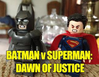 Batman v Superman Dawn of Justice Lego toys