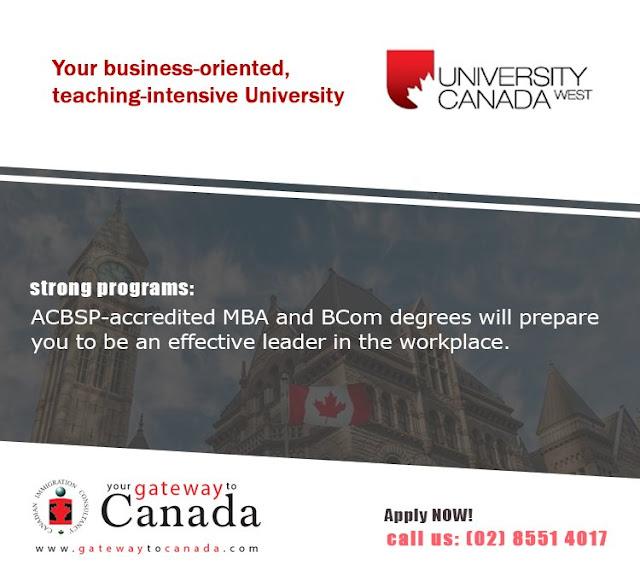 University Canada West (UCW) - Vancouver, British Columbia