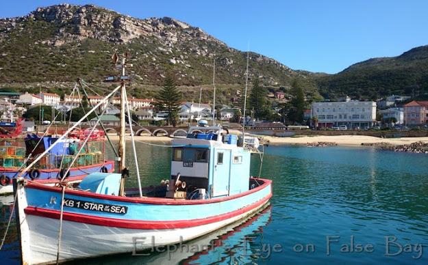 Kalk Bay fishing boat