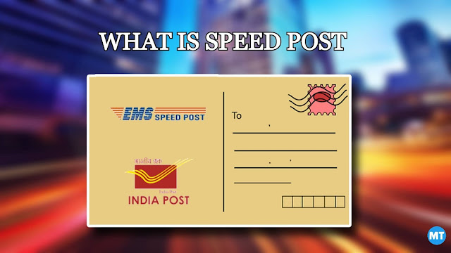 What is Speed ​​Post and how to do it?