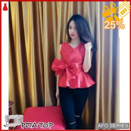 AFO263 Model Fashion Pita Top Modis Murah BMGShop