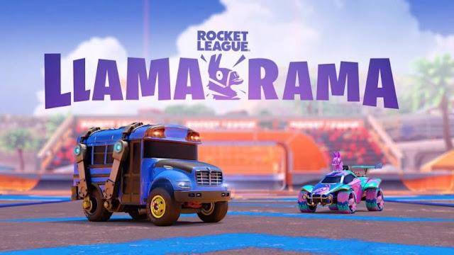Rocket League Gratis en la Epic Store y evento Llama Rama