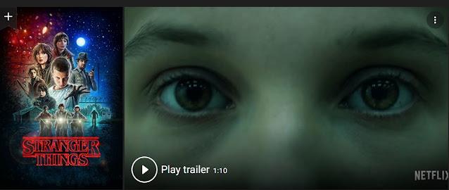 Play Stranger Things (2016) Horror Web Series Trailer online for free