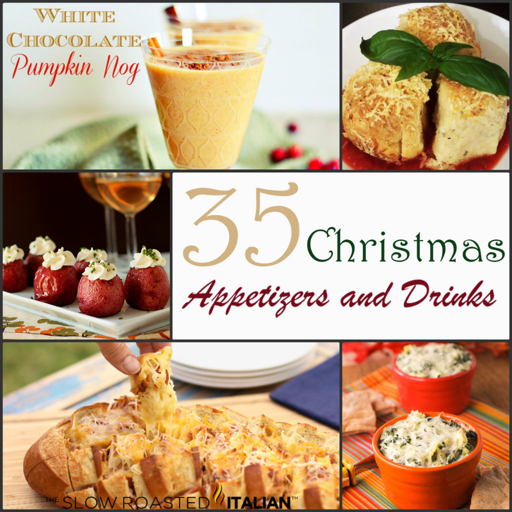 MOMMY'S SWEET CONFESSIONS: 35 Christmas Party Appetizers