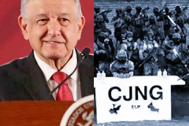 """El Presidente Obrador reconoció cooperación con EEUU en la operación """"Agave Azul"""" que golpeó las finanzas del CJNG"""