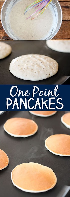 SKINNY ONE POINT WEIGHT WATCHER PANCAKE