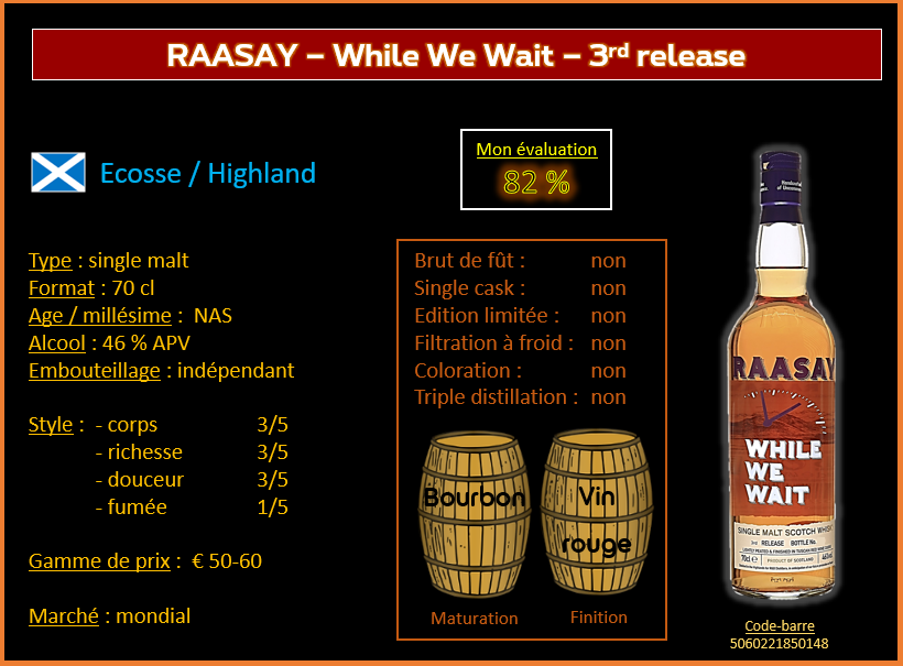 Review #671: Raasay – While We Wait – 3rd release