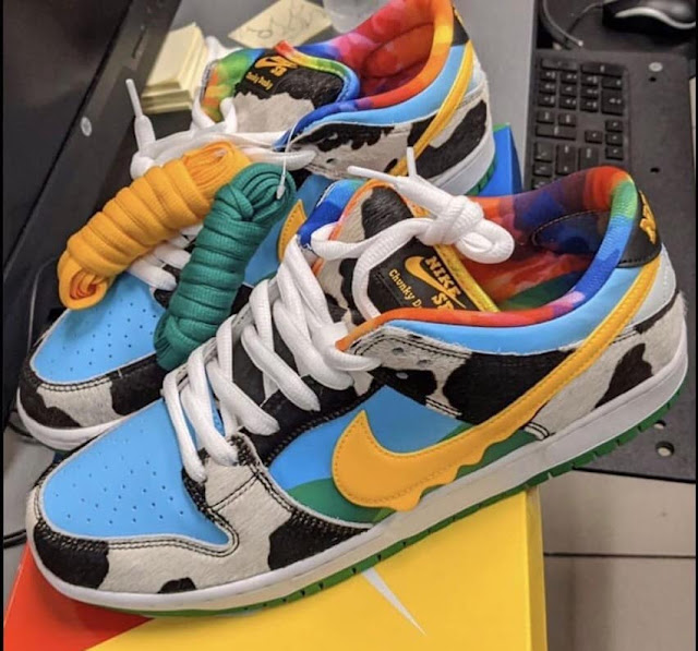Nike SB x Ben & Jerry's Dunk Low First Look Chunky Dunky