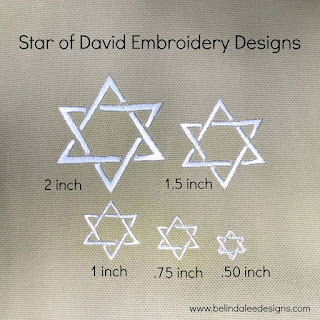 Craft Supplies & Tools  Patterns & How To  Patterns & Blueprints  Machine Embroidery  PES design  Embroidery Design Religious Embroidery  Cross Embroidery  bar mitvah  bat mitzvah  star of david  judaica embroidery  star of david design Shield of David  Magen David  Jewish Star