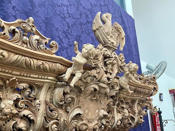 Este es el frontal del nuevo paso del Cristo de la Sed de Jerez