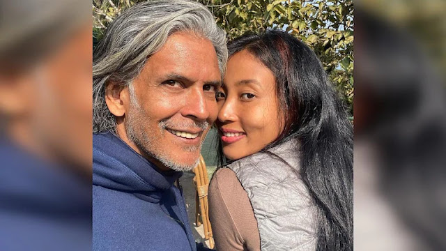 Milind Soman and Ankita Konwar look sunkissed in no-filter pic from Darjeeling