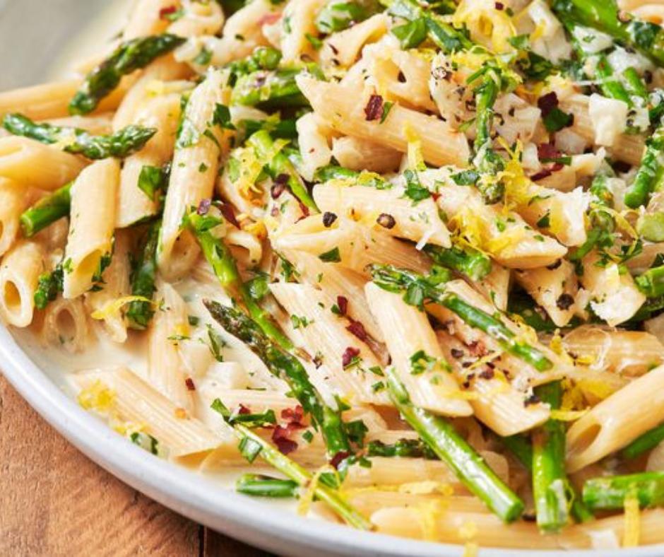 Lemony Asparagus Pasta - food-drink-recipes.com
